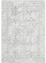Charlton Home Dorothea Ivory/Gray Area Rug Rug