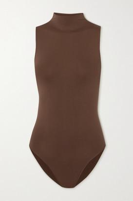 SKIMS Essential Mock Neck Bodysuit - Neutral