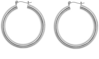 ELOQUII Medium Tube Hoop Earrings