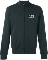 Ea7 Emporio Armani - logo track jacket - men - Cotton - XL