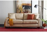 """Serta At Home Palisades 72"""" Square Arm Loveseat at Home Upholstery Color: Beige"""