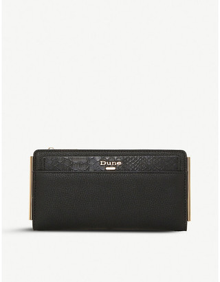 Dune Kantelle faux-leather purse with removable cardholder