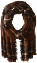 Lauren Ralph Lauren Mohair Blanket Plaid Scarf