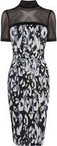 Karen Millen Leopard Print Pencil Dress