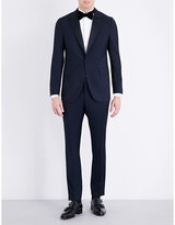 Boglioli Regular-fit Wool And Mohair-blend Tuxedo Jacket