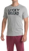 Lucky Brand Cotton Crew Neck T-Shirt - Short Sleeve (For Men)