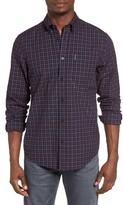 Ben Sherman Men's Mod Fit Gingham Woven Shirt