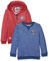 Mothercare Baby Boys' Sporty-2 Pack Hoodie