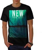 Water Urban Photo New York Men T-shirt   Wellcoda