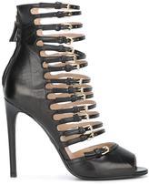 Giambattista Valli buckled straps sandals - women - Leather - 36