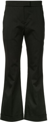Brunello Cucinelli Cropped Kick-Flare Trousers