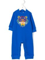 Kenzo Tiger embroidered rompers - kids - Cotton - 3 mth