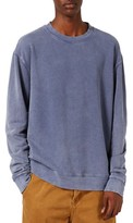Topman Men's Washed Sweatshirt