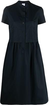 Aspesi Cotton Skater Shirt Dress