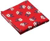 Sitong men's cotton linen printed pattern square pockets handkerchief