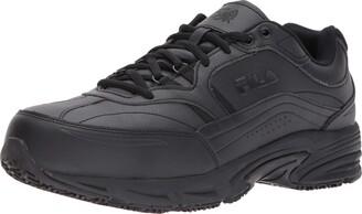 Fila Men's Memory Workshift Slip Resistant Steel Toe Work Shoes Food Service