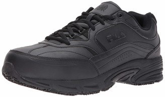 Fila Men's Memory Workshift Slip Resistant Steel Toe Work Shoes Hiking