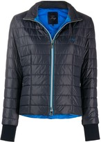 Fay zip-up padded jacket