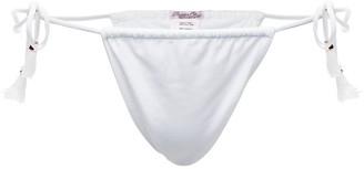 Passion Fruit Beachwear Acai Bikini Bottom - White