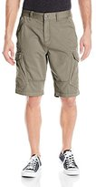 Calvin Klein Jeans Men's Mixed Media Garment Dye Cargo Short