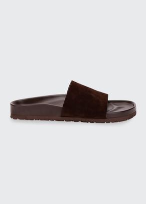 Tom Ford Men's Informal Suede Slide Sandals