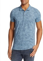 BOSS ORANGE Bamboo Print Slim Fit Polo Shirt
