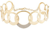 Lana Circle Bond Choker Necklace with Diamonds