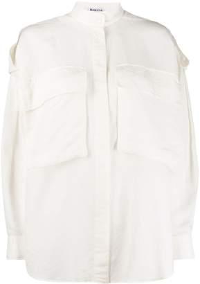 Barena Mandarin collar loose-fit shirt