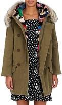 Saint Laurent Women's Fur-Trimmed & -Lined Parka