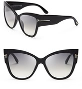 Tom Ford Anoushka Cat Eye Sunglasses, 57mm