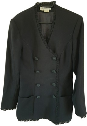 Chantal Thomass Black Wool Jacket for Women