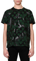 Valentino Camo & Star-Print T-Shirt, Green/Black