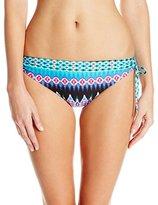 LaBlanca La Blanca Women's Sandbar Loop Side Hipster Bikini Bottom