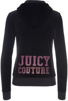 Juicy Couture Logo Velour Varsity Couture Robertson Jacket