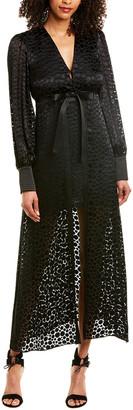 Alexis Cordelia Silk-Blend Maxi Dress