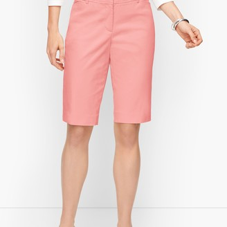 """Talbots Perfect Shorts - 13"""" - Solid"""