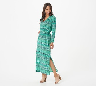 AmberNoon II by Dr. Erum Ilyas Petite SunStretch UPF 50 Maxi Dress