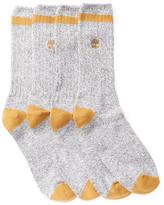 Timberland Marled Crew Socks - Pack of 2
