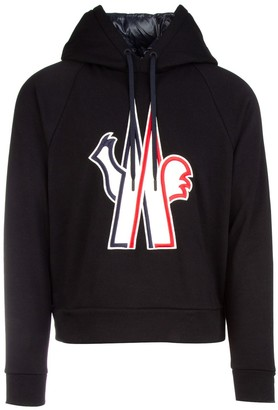 MONCLER GRENOBLE Embroidered Logo Hoodie