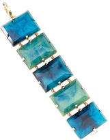 Etro Faceted Crystal Link Bracelet