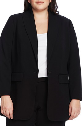 Vince Camuto Suiting Notched Collar Blazer
