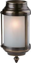 "Rejuvenation Classic 3-1/4"" Brass and Glass Cylinder Lantern"