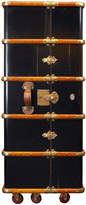 Houseology Authentic Models Stateroom Armoire - Black