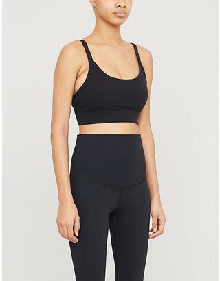 Lorna Jane Core logo-print stretch-jersey maternity sports bra