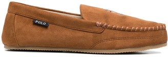 Polo Ralph Lauren Logo Embroidered Loafers