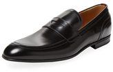 Gucci Web Leather Loafer