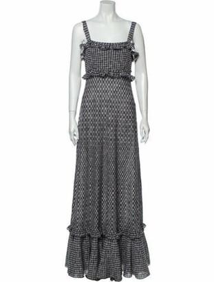 Chanel 2011 Long Dress Grey
