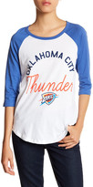 Junk Food Clothing OKC Thunder 3/4 Length Sleeve Tee