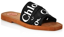 Chloé Women's Woody Logo Slide Sandals