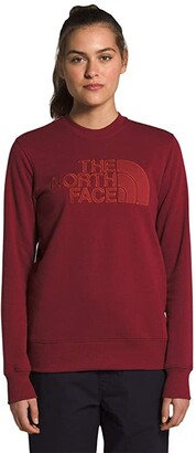 The North Face Neo Dome Crew (Pomegranate/Rosewood Red) Women's Clothing